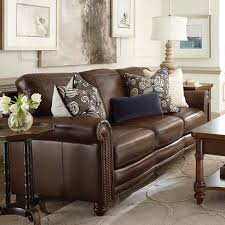 cherry brown leather sofa interior awesome picture of living room design and decoration using