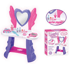 Childrens Play Vanity Free Shipping Baby Dressing Table Make Up Play Toys Set