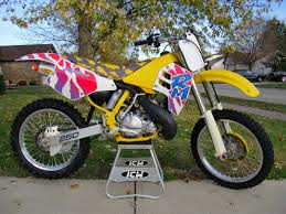 best 2 stroke motocross bike throwback 1994 kx250 awesome graphics mx life pinterest
