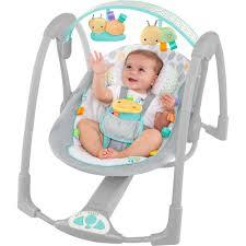 Newborn Baby Swing Chair Blues U0026 Pinks
