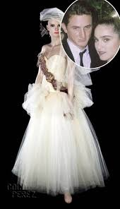 1985 wedding dresses madonna s dress from 1985 wedding to penn sells at