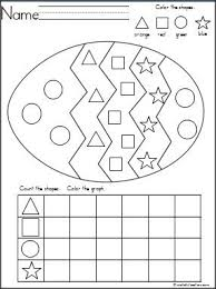 shape recognition worksheet 29 best kindergarten activities through the seasons images on