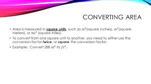 Square Meters by Units And Conversions Ppt Video Online Download