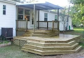 Back Porch Stairs Design Mobile Home Back Porch Ideas Mobile Homes Ideas