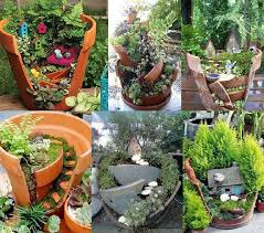 Potted Garden Ideas Miniature Gardening Ideas Potted Gardens