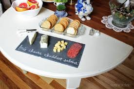 chalkboard cheese plate 10 simple tips for hosting festive the inspired room