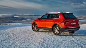 ice to meet you first off road drive in the new 2016 vw tiguan by