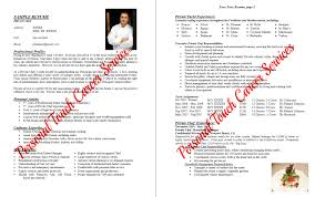 Example Of Chef Resume by Private Chef Resume Example 7 Ilivearticles Info