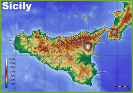 Russia Physical Map Physical Map by Sicily Physical Map