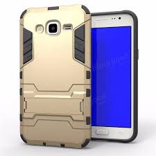 2 in 1 armor back shockproof cover phone holder protective