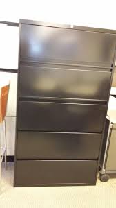 Used 5 Drawer Lateral File Cabinet Used Steelcase 900 Series 5 Drawer Lateral File Cabinets