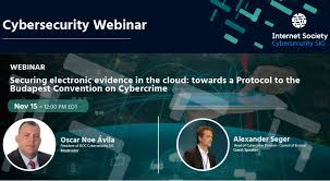 Council Of Europe Convention On Cybercrime Budapest Webinar Securing Electronic Evidence In The Cloud Towards A