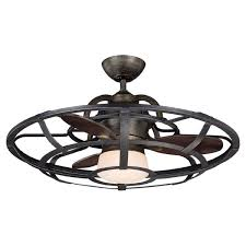 ceiling fans antique bronze special caged ceiling fan fans joss main hongsengmotor caged