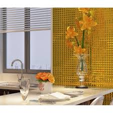mirror tile backsplash kitchen gold 5 sides mirror tile glass mosaic wall tile kitchen