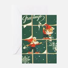retro christmas cards vintage christmas greeting cards cafepress