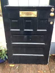 reclaimed victorian door front art deco wooden period