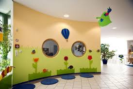 kindergarten wandgestaltung klein elke hell - Wandgestaltung Kindergarten