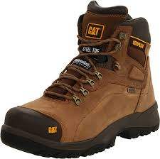 shoes s boots amazon com caterpillar s diagnostic waterproof steel toe
