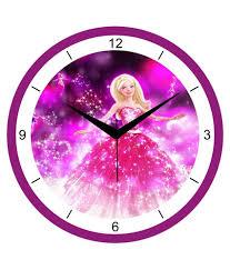 regent pink wall clock buy regent pink wall clock at best price