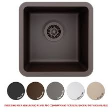 Composite Kitchen Sink Reviews by Lexicon Platinum Quartz Composite Kitchen Sink Small Single Bowl