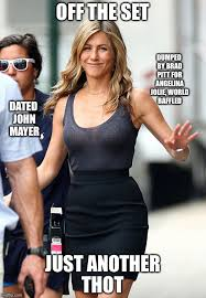 Angelina Jolie Meme - jennifer aniston imgflip