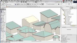 archicad tutorial roof modeling in archicad 15 and above youtube