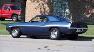 dusk blue camaro 1969 chevrolet camaro x44 restored syc yenko tribute big block see