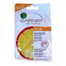 Masker Garnier Lemon garnier stop masker peel 2 x 6 ml