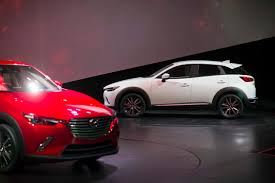 mazda new model mazda wants cx 3 to become a core model nearly overlooks the new mx 5