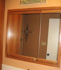 3 mirror medicine cabinet ole time 3 mirror medicine cabinet redo furniture makeovers