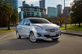 new mitsubishi mirage sedan delivers compact style on a micro budget