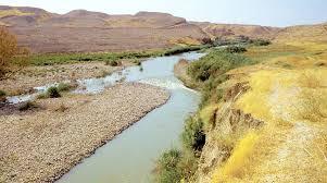 Jordan River Map The River Jordan