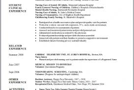 exle of nursing resume nursing resume sle new registered exles i16gif