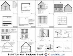 shed floor plans free 16x20 garage plans free gp