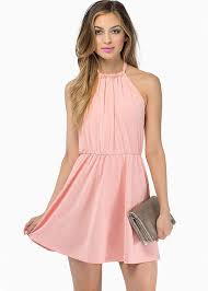 light pink halter dress dress light pink halter dress wheretoget