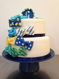 bow tie cake for a baby shower baby shower cakes pinterest