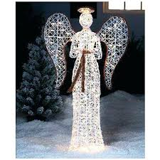 lighted christmas yard angels outdoor christmas angel lighted outdoor angels holiday lighted