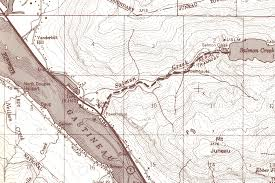 Juno Alaska Map by Salmon Creek Trail