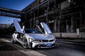 Bmw I8 Tuning - bmw i8 clad in other worldly bodykit by niche japanese tuner