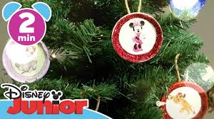 craft tutorials tree ornaments disney junior