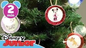 craft tutorials tree ornaments disney junior