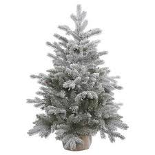 white unlit trees target
