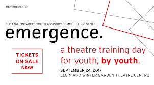 workshop emergence u2013 a day of theatre training by youth for