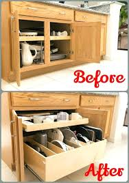 Open Bathroom Shelves How To Organize Shelves How To Organize Kitchen Cabinets Best