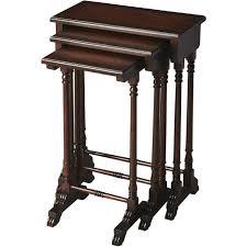 butler specialty nesting tables butler specialty 3400024 dunham plantation cherry nesting tables