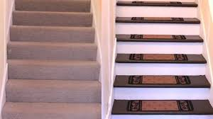 how to renovate carpeted stairs to hardwood diy