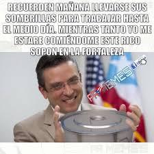 Meme Alejandro Garcia Padilla - lluvia de memes ante el paso de la tormenta erika benitezper435