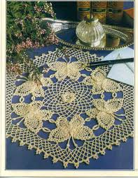 free crochet doily patterns free crochet butterfly doily pattern