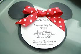 minnie mouse invites template best template collection