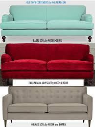 Small Sofas And Loveseats The Search For A Small Sofa U2013 Nola Kim